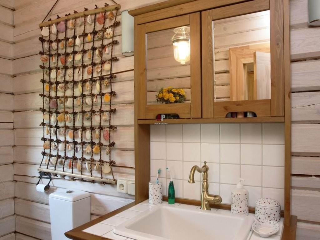 Декор ванных комнат своими руками