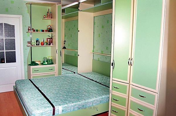 Двуспальная кровать-трансформер — Фото