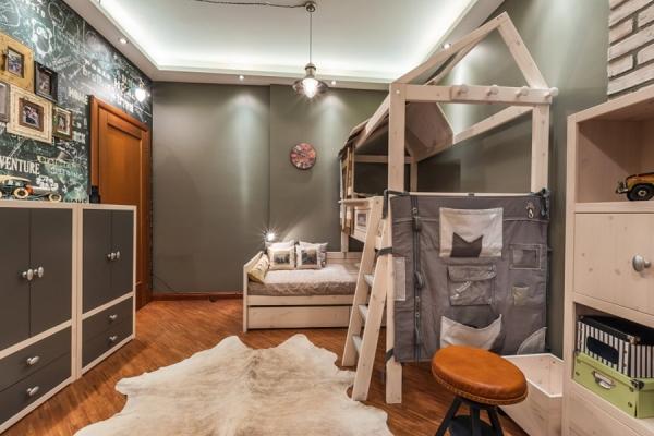 Оформление детской комнаты: идеи, фото и видео