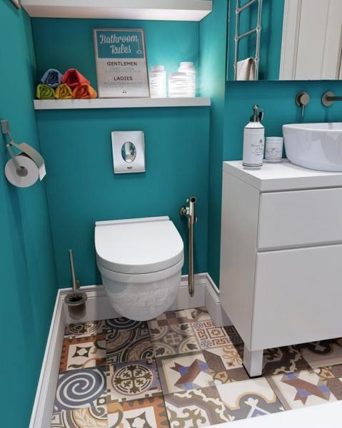 Модный дизайн ванной комнаты площадью 3 кв м: Миф или реальность?