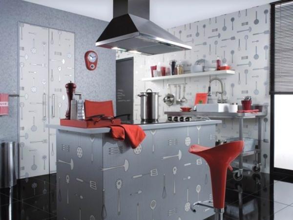 Дизайн стен на кухне: сборник лучших решений