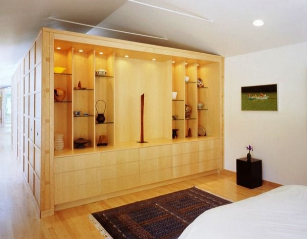 Простой и аскетичный дизайн: стильные интерьеры комнат в квартирах и домах в японском стиле