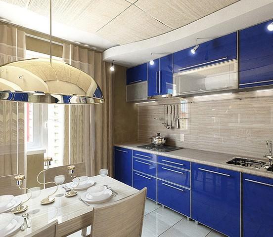 Дизайн квадратной кухни – варианты и нюансы размещения мебели