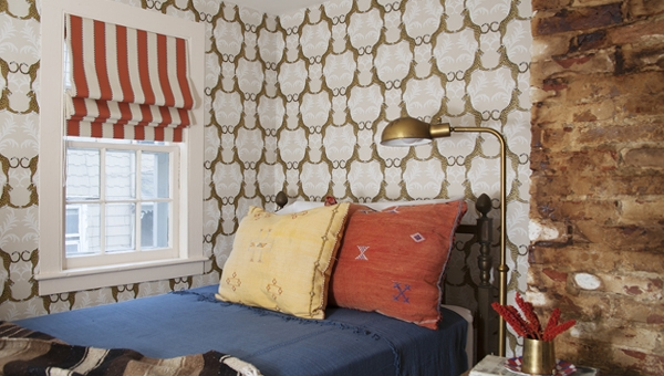 Римские шторы: 14 фото-идей
