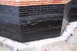 Гидроизоляция подвала гаража от осадков и грунтовых вод