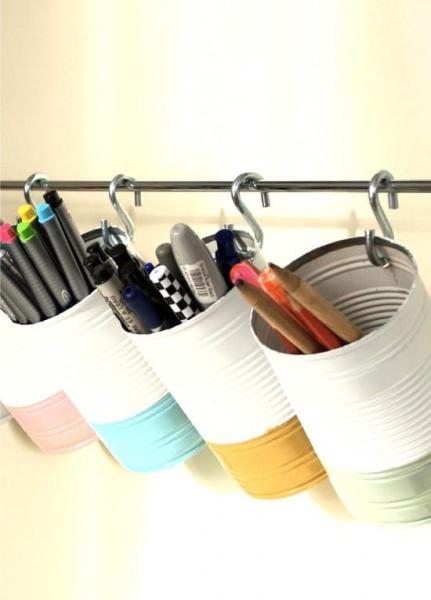 Переделка жестяных и стеклянных банок: мастер-классы и идеи
