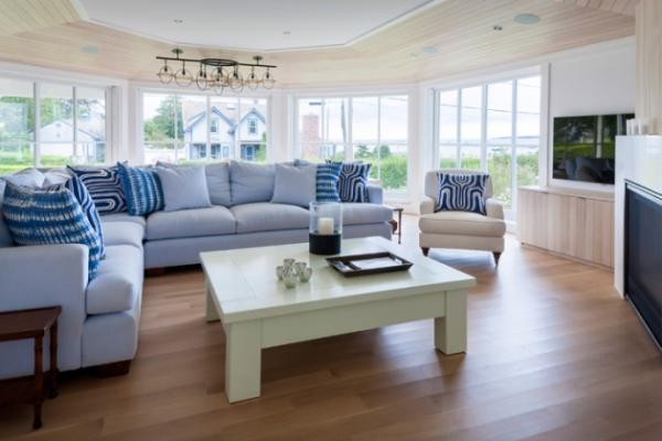 Как оформить гостиную в пастельных тонах?
