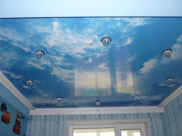 Выбираем потолок в детскую комнату — от материалов до дизайна