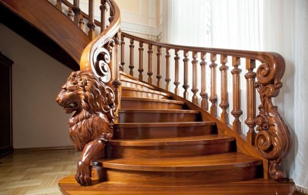 Перила для лестниц (20 фото): современные варианты дизайна