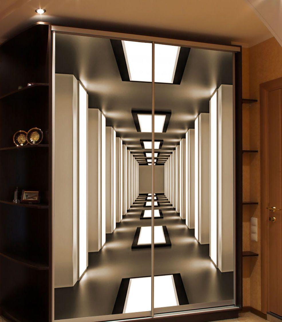Шкаф-купе в прихожую: 100 фото идей