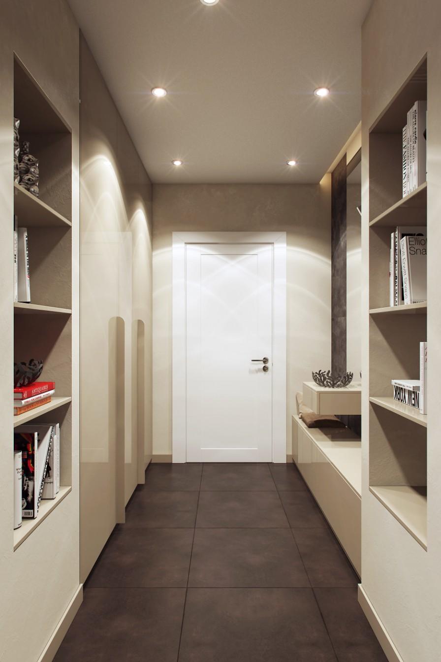Дизайн коридоров буквой г