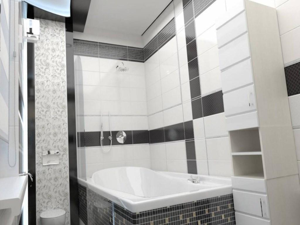 Плитка для ванной комнаты (200 фото)