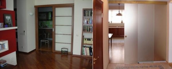 Современные двери на кухню: выбираем оптимальный вариант