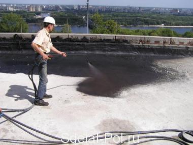 Надежная гидроизоляция крыши — это сухой и теплый дом