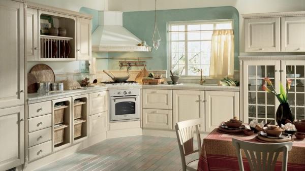 Натуральные деревянные кухни: дизайн и особенности декора