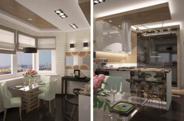 Дизайн кухни п44, п30 и 137 серии: рассмотрим лучшие варианты
