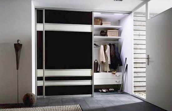Мебель встроенная для прихожей, фото вариантов