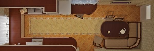 Дизайн узкой кухни: выбираем планировку и определяемся с отделкой