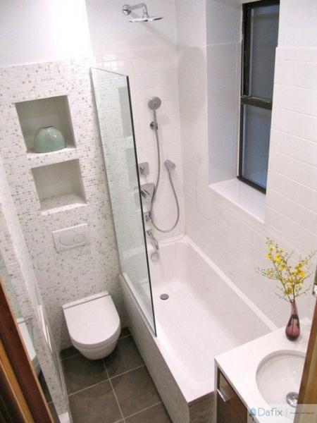 Дизайн интерьера ванной площадью 4 кв м