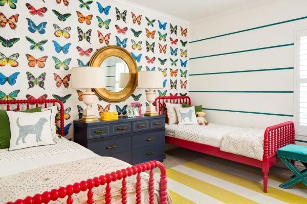 Создание интерьера детской комнаты для двух девочек: секреты и тонкости