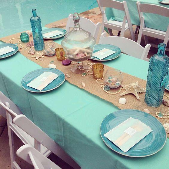Как декорируются столы