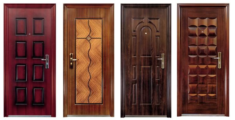 Входные железные двери — Фото