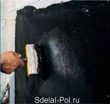 Гидроизоляция стен дома из камня и дерева в подробностях