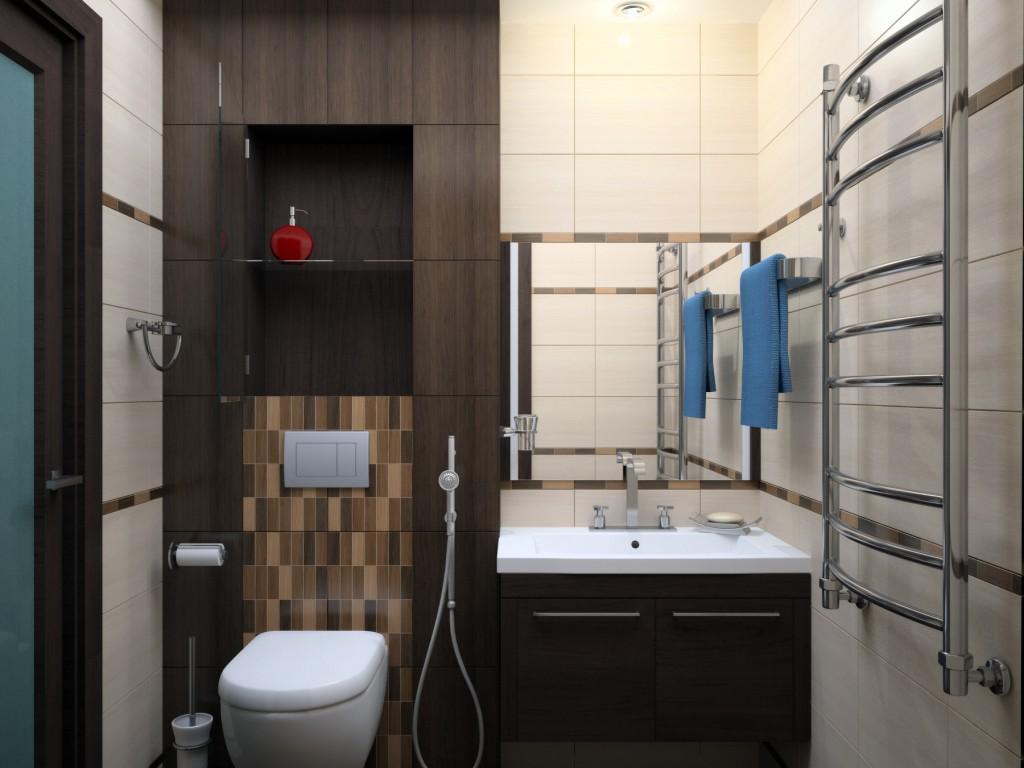 Дизайн маленькой ванной комнаты: фото идеи увеличения интерьера