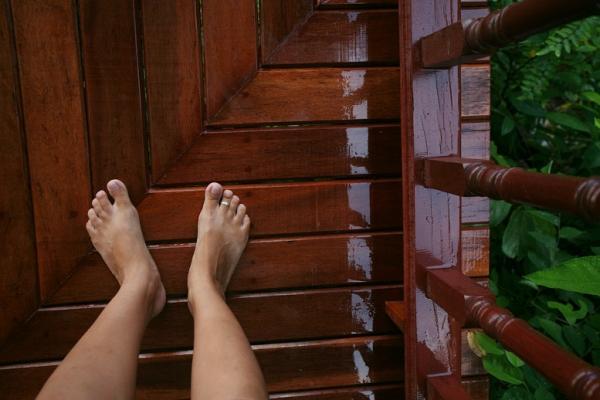 Делаем теплый пол на балконе своими руками