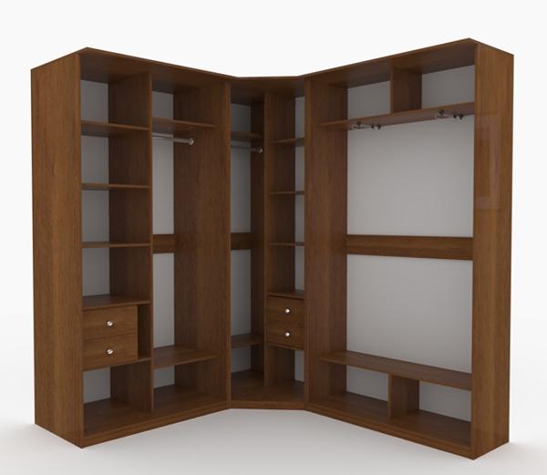 Угловой шкаф-купе: 10 вариантов