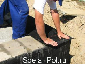 Гидроизоляция фундамента: обязательное требование при возведении зданий