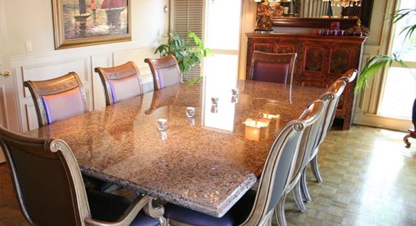 Прочная жаростойкая столешница для разделочного кухонного стола Кухня искуственный камень Красный Холм