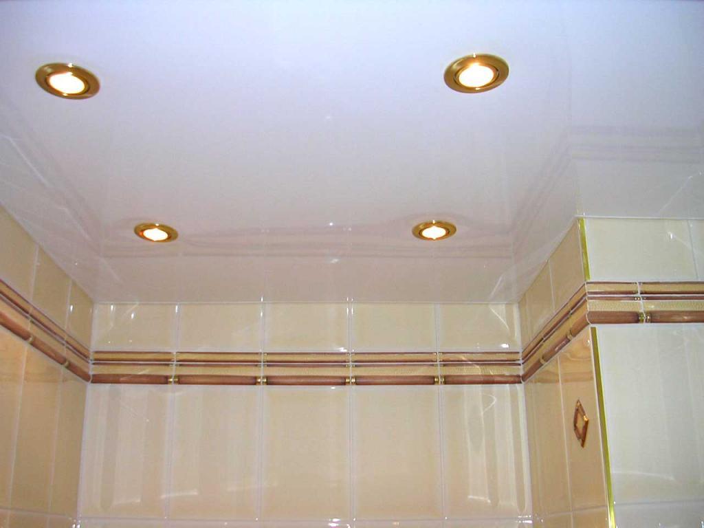 Натяжные потолки (150 фото)