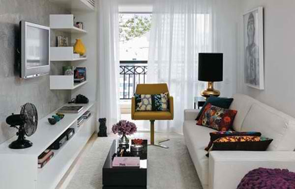 Дизайн малогабаритной однокомнатной квартиры: Фото