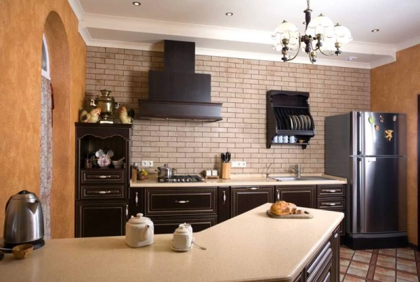 Проходная кухня – зонирование, выбор мебели, варианты дизайна
