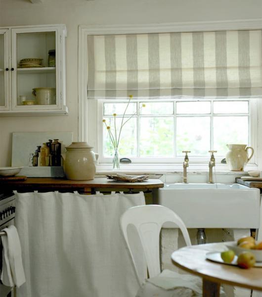 Римские шторы для кухни своими руками с фото 36