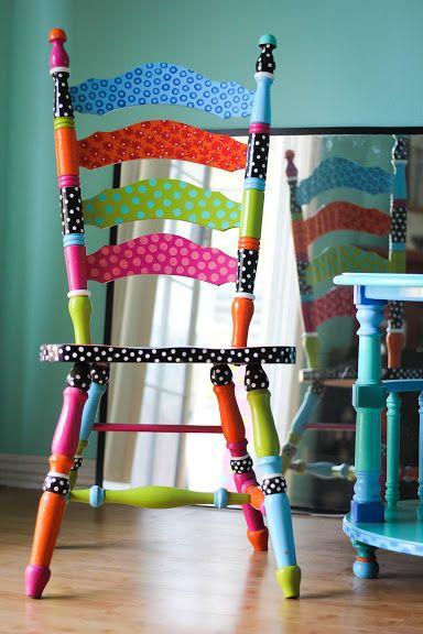 Тонкости декора стульев