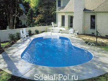 Гидроизоляция бассейна: методы и материалы