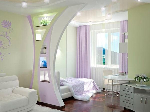 дизайн комнаты 18 кв м спальни гостиной фото особенности варианты