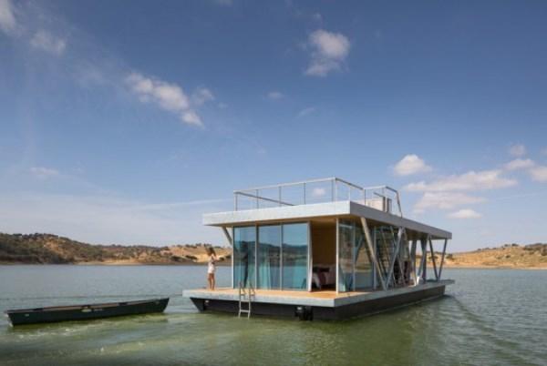 Любите приключения? Новинка: плавучий дом Floatwing