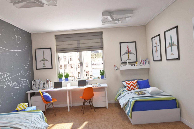 Идея комнаты для двух подростков