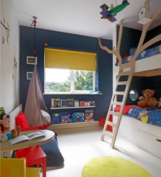 Дизайн интерьера детской комнаты для двух мальчиков