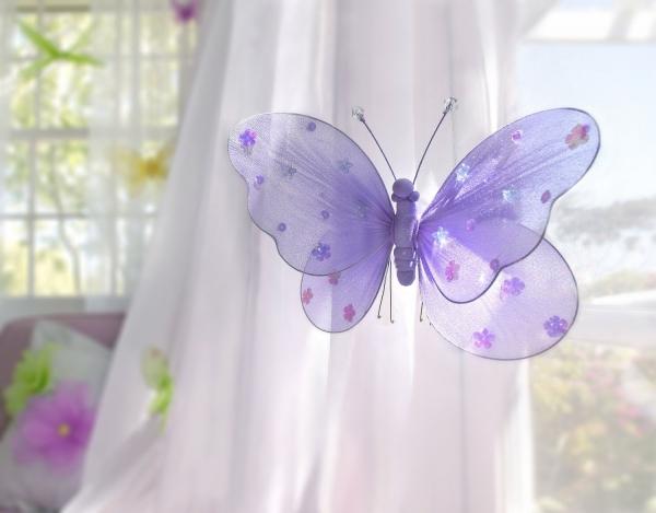 Бабочки для декора интерьера (21 фото): оригинальные идеи и примеры