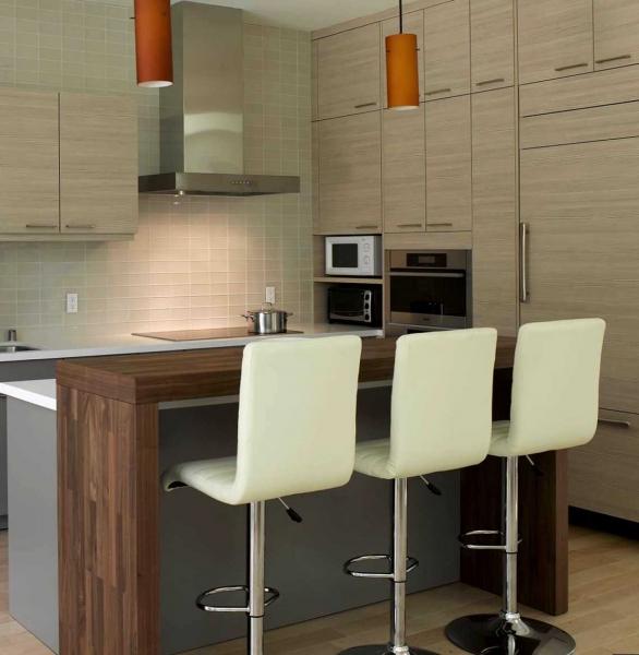 Современный дизайн кухни с барной стойкой: фото, интерьерные решения