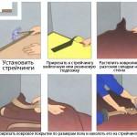 Методы крепления ковролина