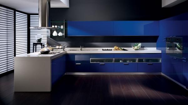 Синяя мебель в интерьере (20 фото): интересные сочетания