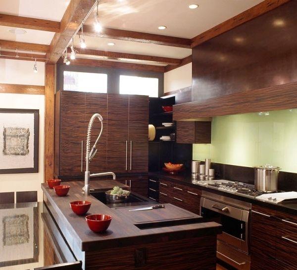 Современная мебель цвета венге: богатство палитры в вашем интерьере (+50 фото)