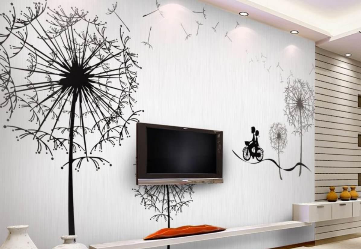 Роспись на стенах в квартире своими руками
