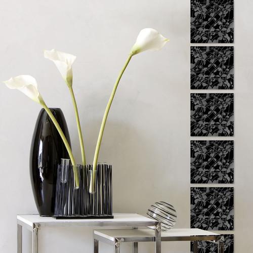 Высокие декоративные напольные вазы