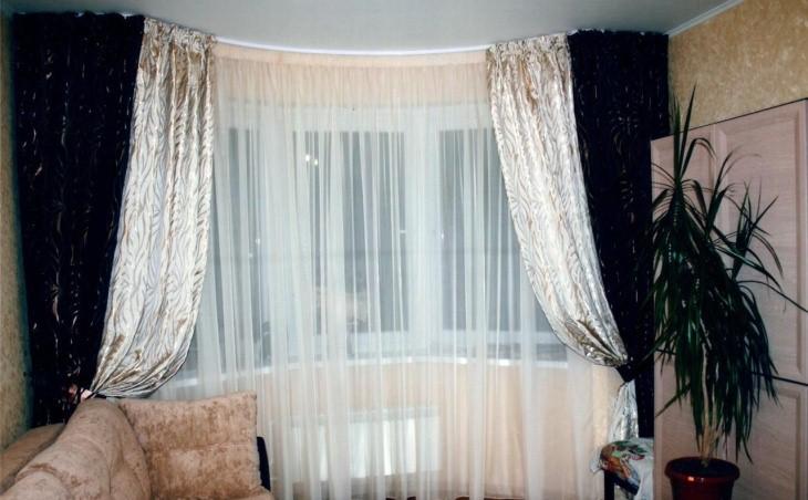 Виды карнизов для штор: Фото